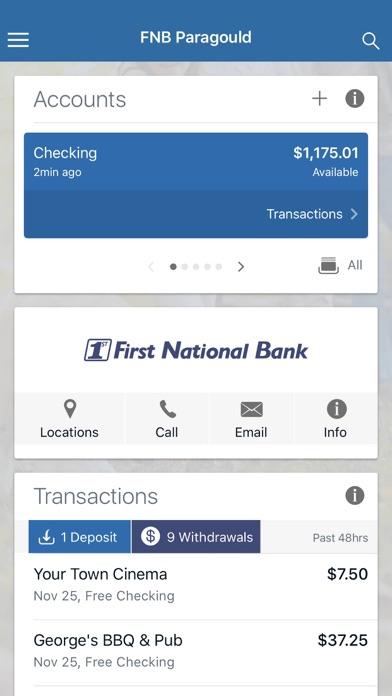 FNB FirstMobile - App - iOS me