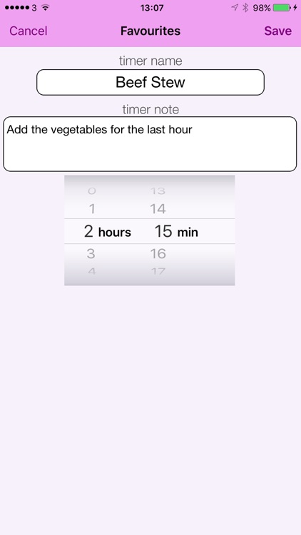 Mama's Kitchen Timer screenshot-3