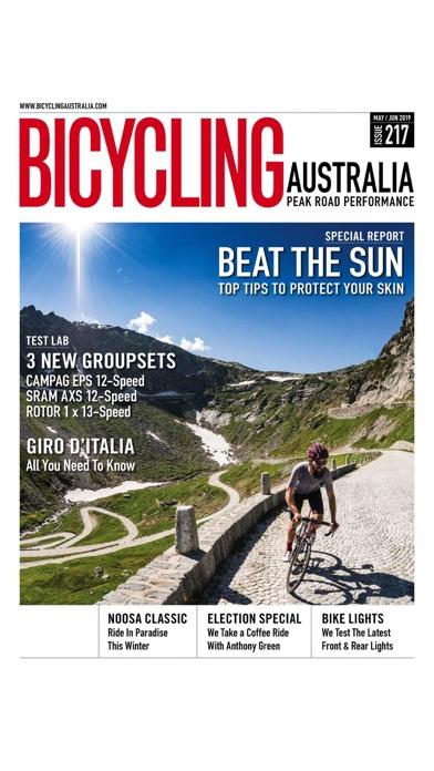 Bicycling Australia M... screenshot1