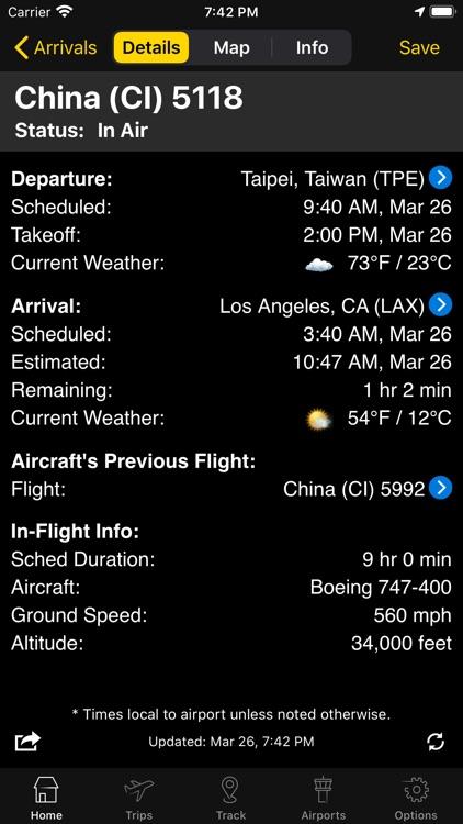 Flightview - Flight Tracker screenshot-5