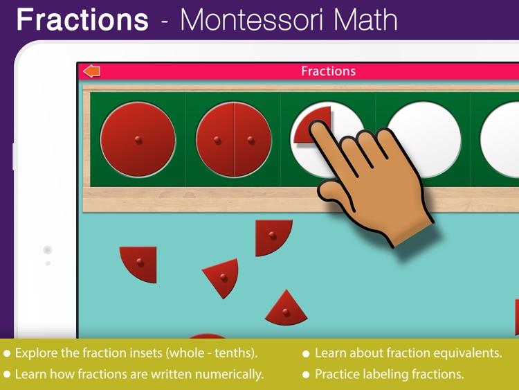 Montessori Preschool Fractions screenshot-0