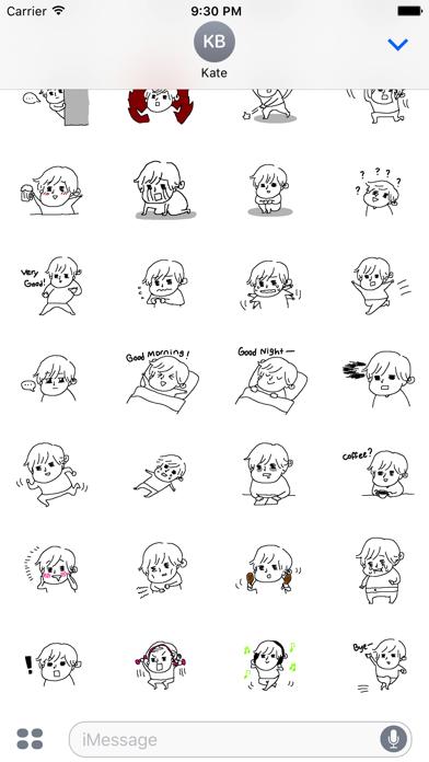 Dundin's Stickerのスクリーンショット3