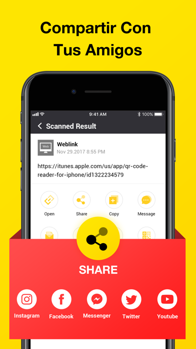 QR Code Scanner-Lector CódigosCaptura de pantalla de8