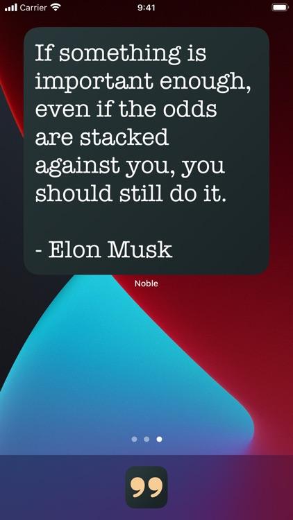 Noble: Motivation Quotes