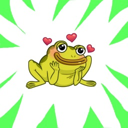 Epic Frog Stickers