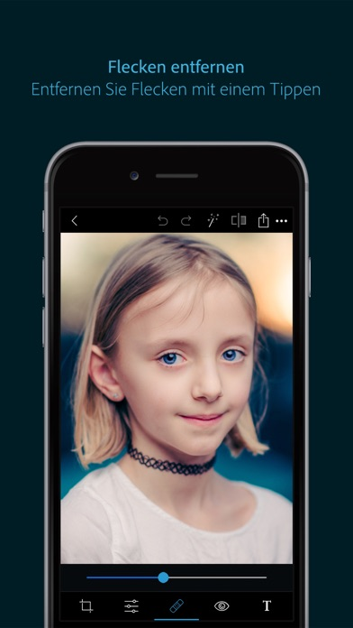 Screenshot for Photoshop Express-Fotoeditor in Germany App Store