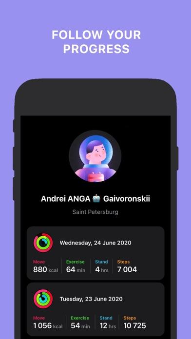Activity Tracker+ Screenshots