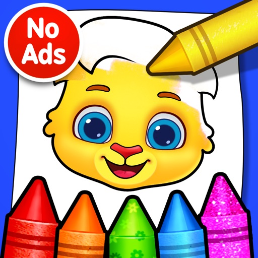 Coloring Games: Painting, Glow By RV AppStudios LLC
