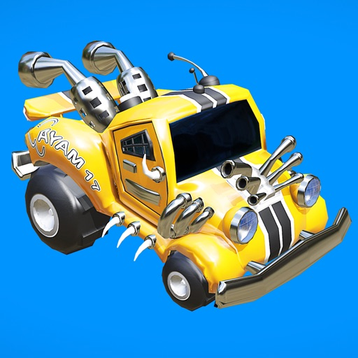Monster Trucks Racing Stunts