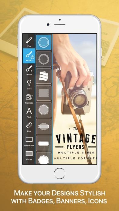 Vintage Logo & Poster Creator Screenshots