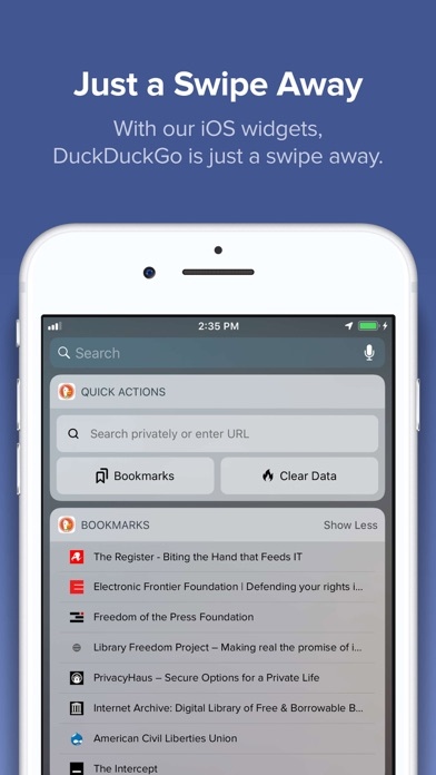 messages.download DuckDuckGo Privacy Browser software
