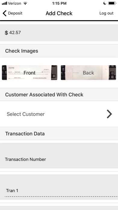FNBDC Mobile Deposit screenshot #3