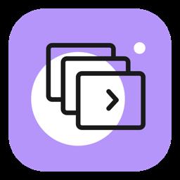 Ícone do app Movavi Slideshow Maker