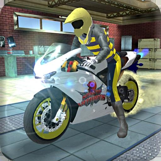 High Ground Sports Bike Sim 3D