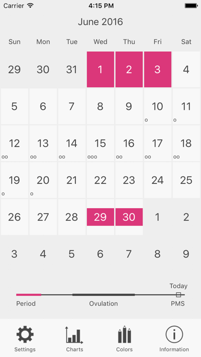 Menstrual Period Tracker Proのおすすめ画像1