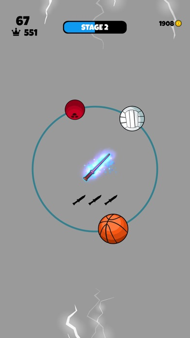 Knife vs Balls screenshot 2