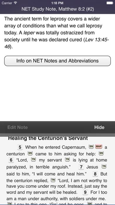 Touch Bible screenshot two