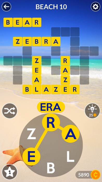 Wordscapes app image