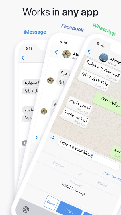TransKey - Chat Translator App
