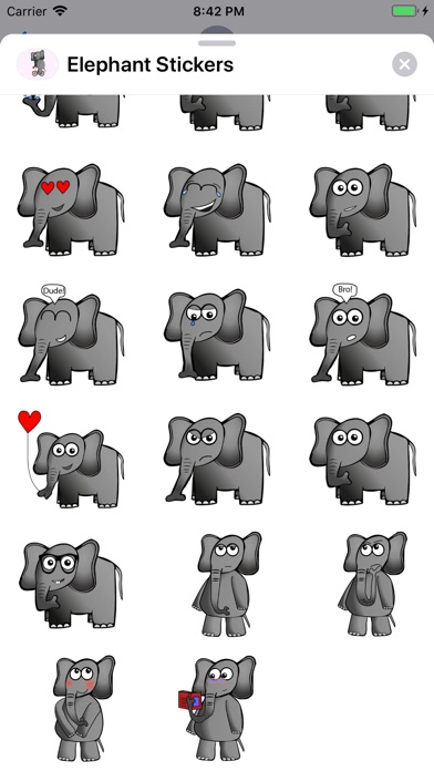 Elephant Stickers app image