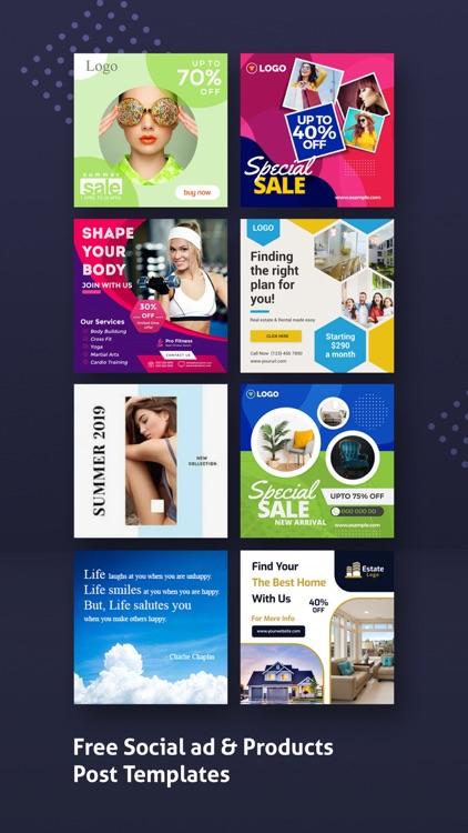 Poster Maker, Flyer Maker 2021 screenshot-5