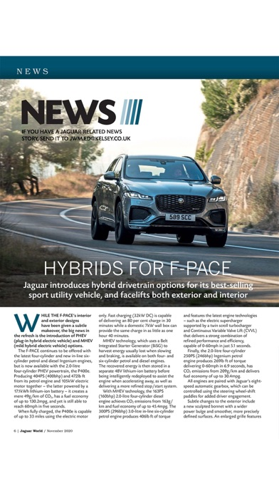Jaguar World Magazineのおすすめ画像6