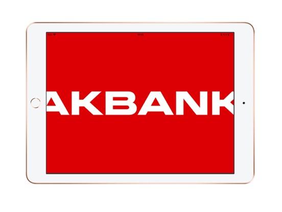 Akbank ipad ekran görüntüleri
