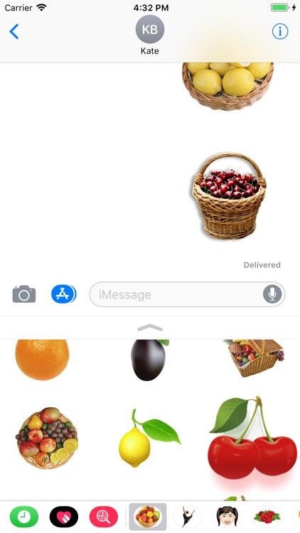 Fruits Sticker Pack Pro screenshot-4