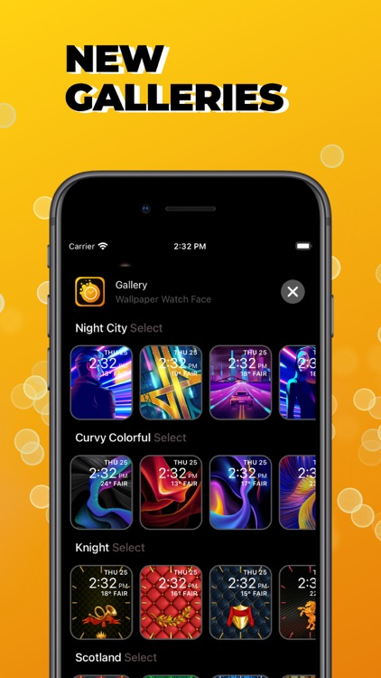 Watch Faces Gallery Wallpapers screenshot-4