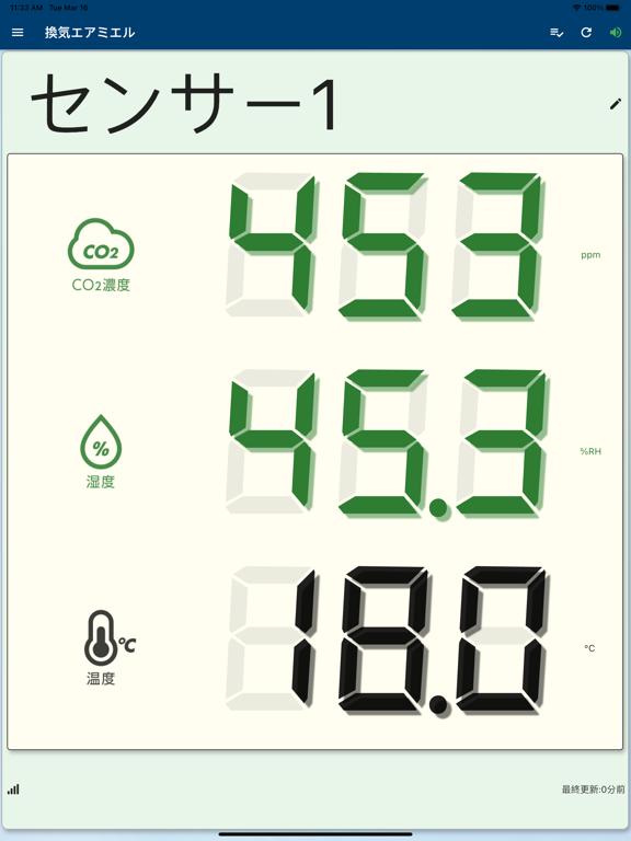 【CO2センサー】換気エアミエルのおすすめ画像2