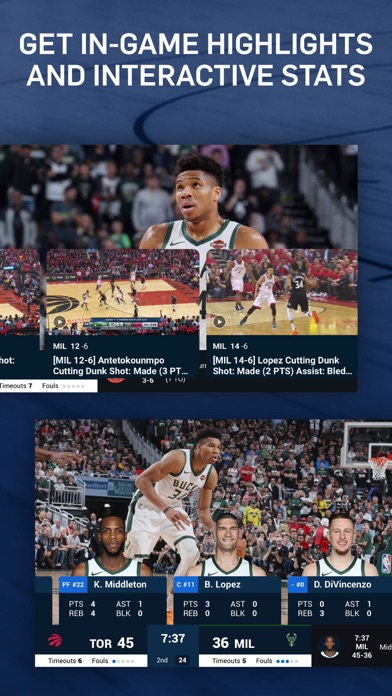 NBA: Live Games & Scores Screenshot