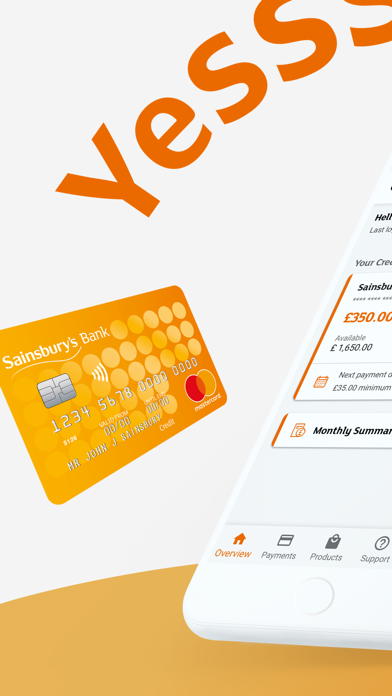 Sainsbury's Bank Credit Card screenshot one