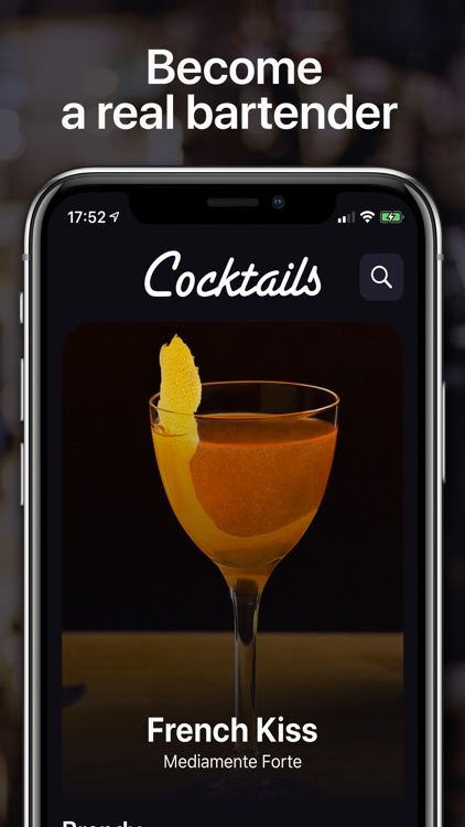 Cocktails For Real Bartender screenshot-0