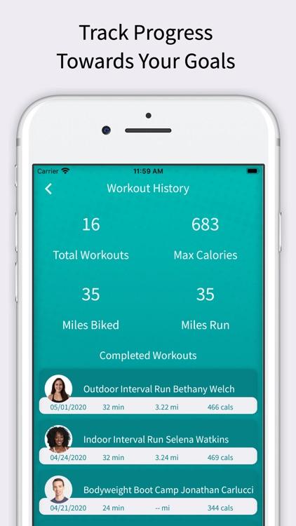 CardioCast: Audio Fitness App screenshot-6
