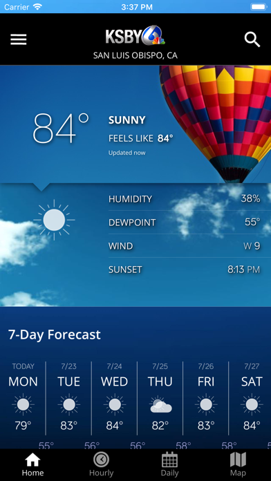 cancel KSBY Microclimate Weather app subscription image 1