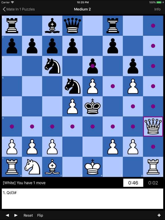 Mate in 1 Chess Puzzlesのおすすめ画像5