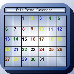 RJ's Postal Calendar