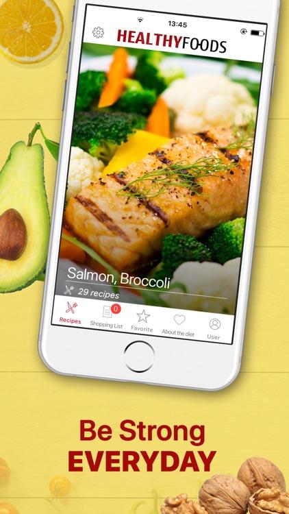 Healthy Food Meal Planner screenshot-3