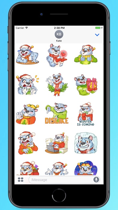 Screenshot for Funny Irbis Stickers in Colombia App Store