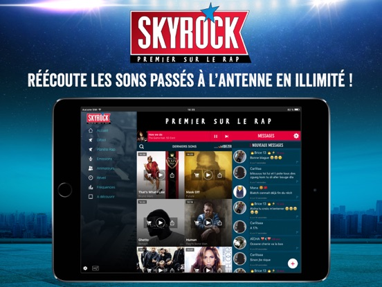 Skyrock Radios