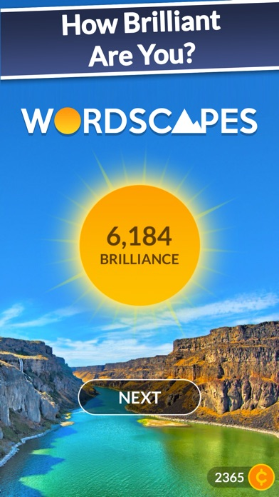 Screenshot for Wordscapes in Viet Nam App Store