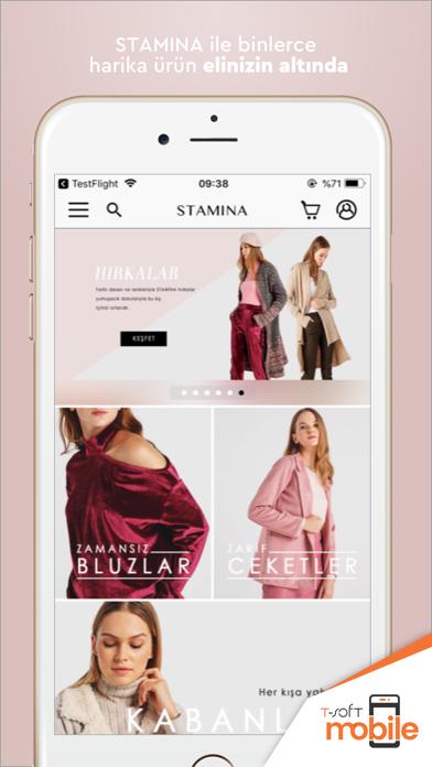 Stamina Shopping app image