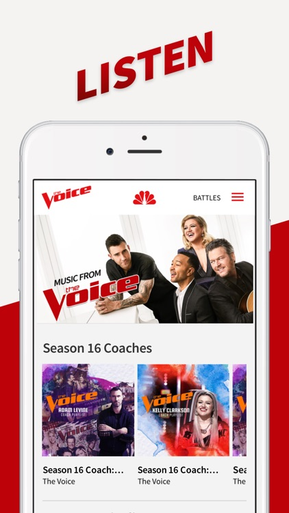 The Voice Official App on NBC screenshot-4