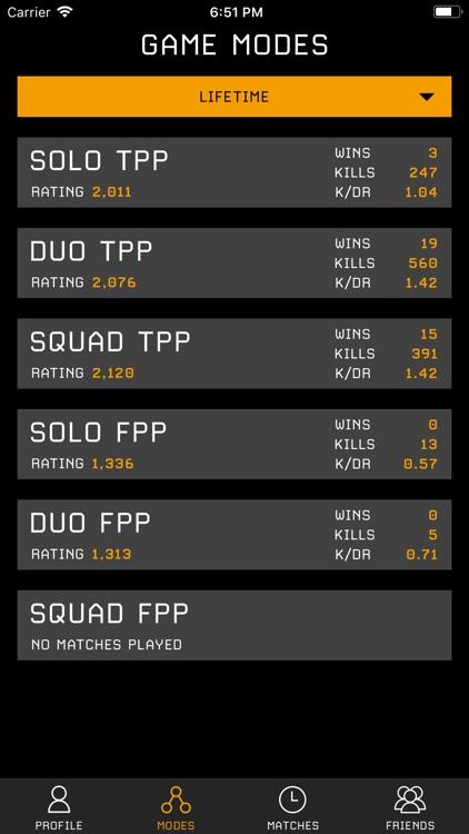 Stats Tracker for PUBG screenshot-3