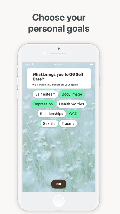 GG OCD - Anxiety & Depression Screenshot