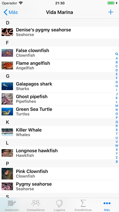 Screenshot for Dive Log in Chile App Store