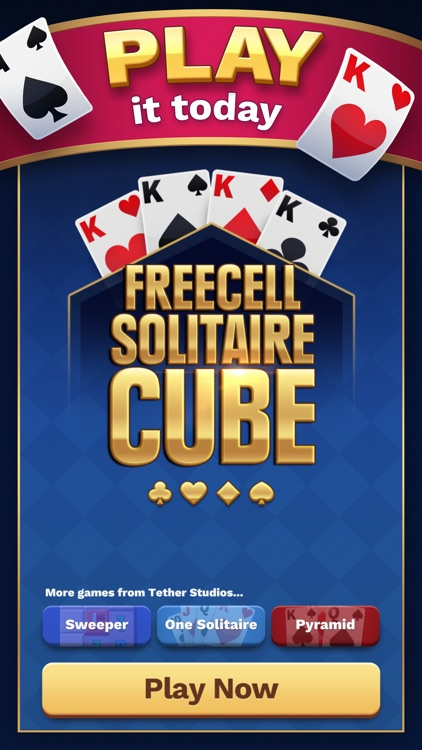 Freecell Solitaire Cube screenshot-0
