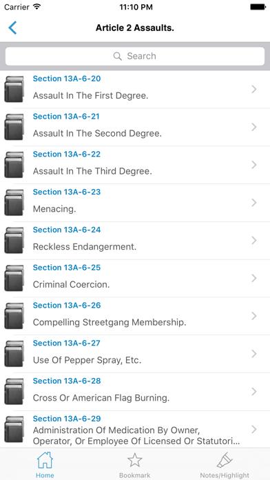 CA Penal Code (California) screenshot three