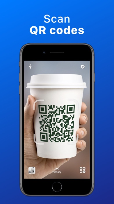 QR Code Reader - QrScan Screenshot