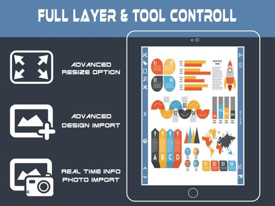 Screenshot #5 pour InfoGraphic et créateur d'affi